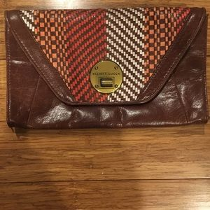 Elliot Lucca leather clutch or shoulder bag